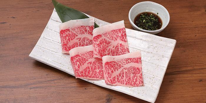 Shabu Shabu Beef from Aburiya in Boat Quay, Singapore