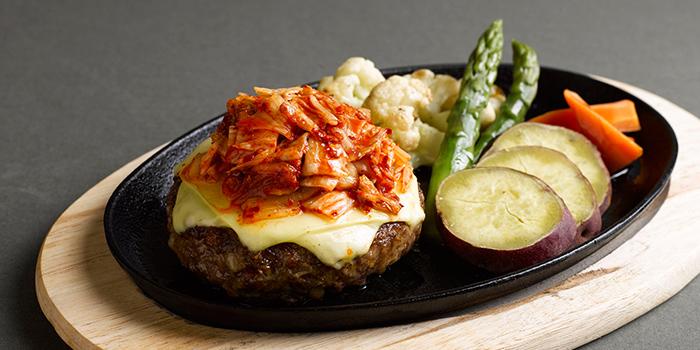 Hamburg Steak with Kimchi from Shio & Pepe at Marina Square in Promenade, Singapore