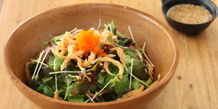 Shirauo Salad from MAGURO Sushi - INT Intersect, Rama 3 in Rama 3 Road, Bangkok
