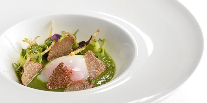 Slow-cooked Farm Egg and Asparagus, COVA Ristorante & Caffe, Admiralty, Hong Kong