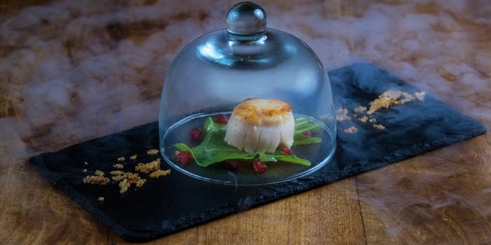 Smoked Scallop from Sensi Restaurant in Narathiwat Soi 17, Bangkok