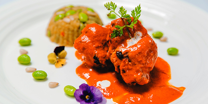 Butter Chicken from The Song of India Indian Restaurant in Newton, Singapore