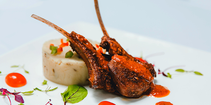 Lamb Chop from The Song of India in Newton, Singapore