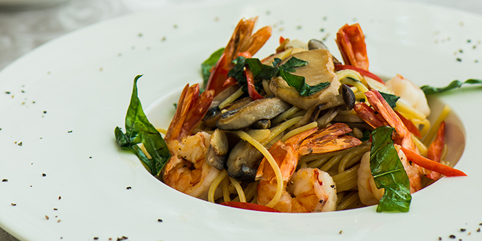 Spaghetti with Seafood, My Day, Tsim Sha Tsui, Hong Kong