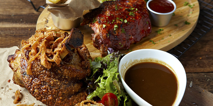 Pork Knuckle & Ribs from Stärker Bistro (Tanjong Pagar) in Tanjong Pager, Singapore