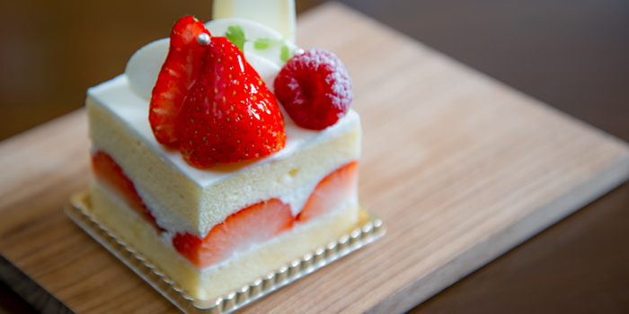 Strawberry Short Cake from Hanuman Bar at Siam Kempinski Hotel, Bangkok