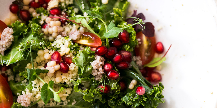Kale Salad from Summerlong at The Quayside in Robertson Quay, Singapore