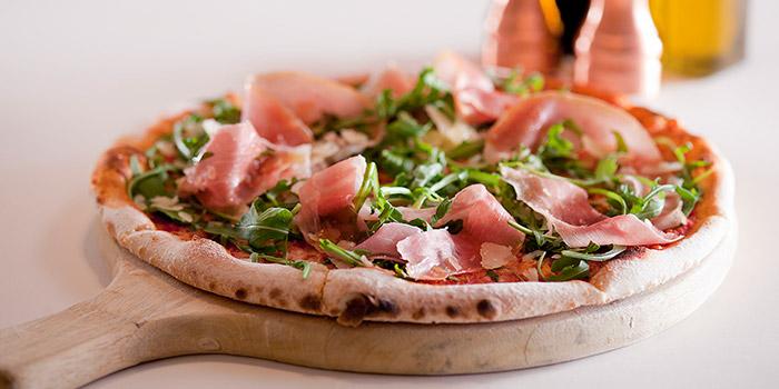 Tomato Parma Ham Pizza, Osteria Ristorante Italiano, Tsim Sha Tsui, Hong Kong