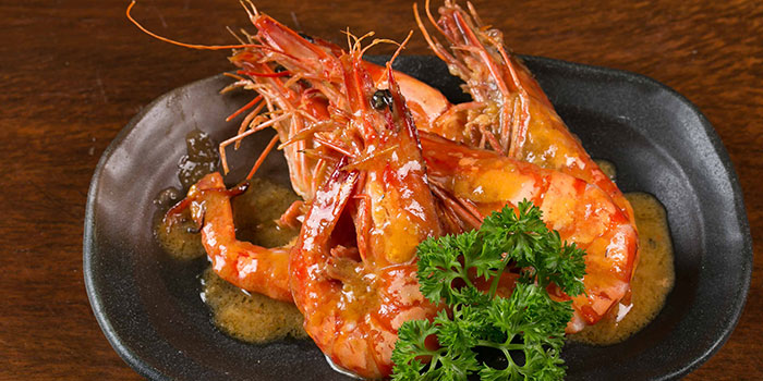 Stir Fry Prawn with Spicy Miso from Tsukiji Fish Market Restaurant at Orchard Central in Orchard, Singapore