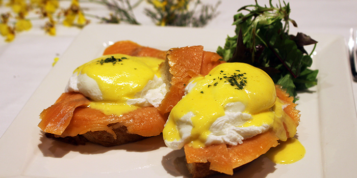 Eggs Royale from WANNA CUPPA in Clarke Quay, Singapore