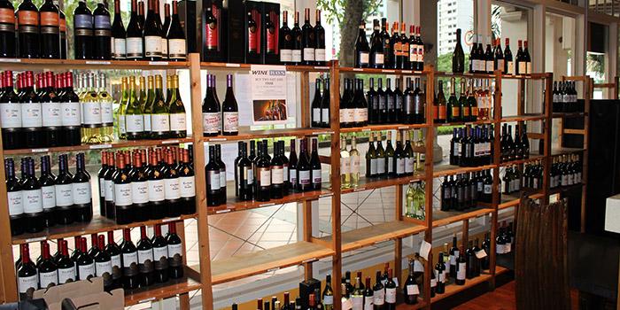 Wine Area from Wine Bonanza in Little India, Singapore