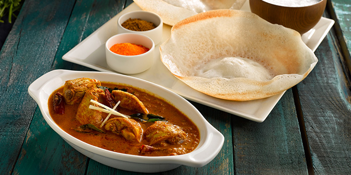 Chicken Curry Appam from Pavilion Banana Leaf at Jurong Point Shopping Mall in Jurong, Singapore