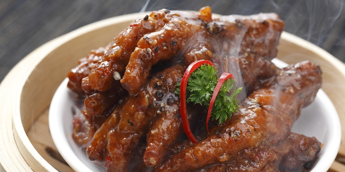 Chicken Feet at Duck King Jakarta