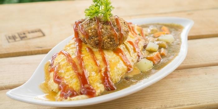 Beef Patty Curry at Sunny Side Up Kota Kasablanka