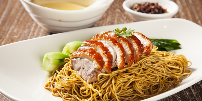 Duck Noodle at Plataran Dharmawangsa