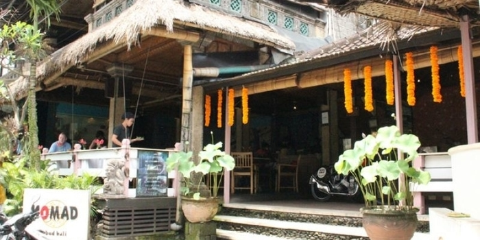 Exterior from Nomad Restaurant Ubud