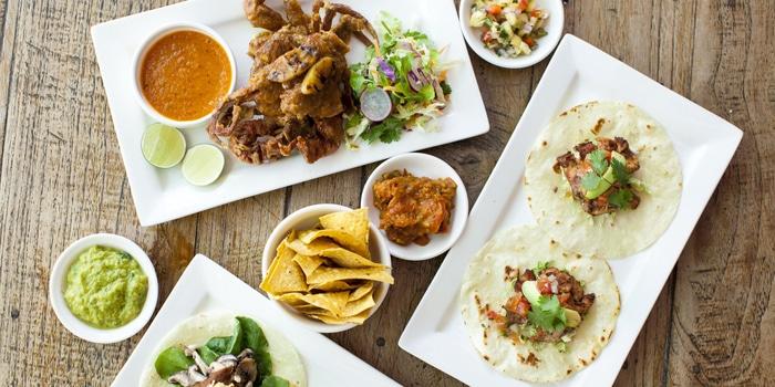 Food from LacaLaca Cantina Mexicana in Seminyak, Bali