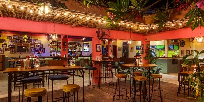 Bar Area of LacaLaca Cantina Mexicana in Seminyak, Bali