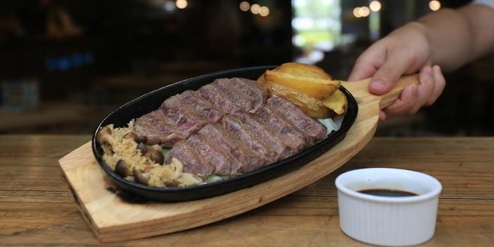 Wagyu Steak at Sunny Side Up Kota Kasblanka