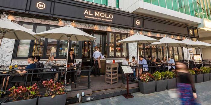 Exterior, Al Molo, Tsim Sha Tsui, Hong Kong