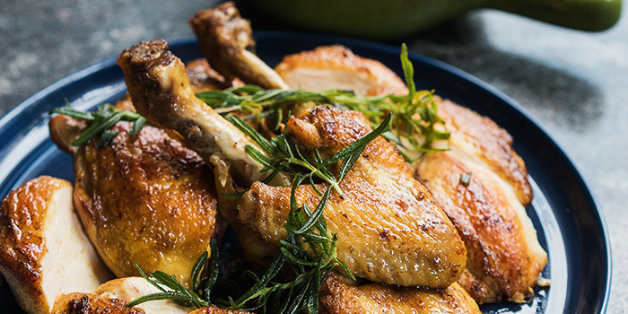 Butter Roasted Golden Chicken from Amo in Clarke Quay, Singapore