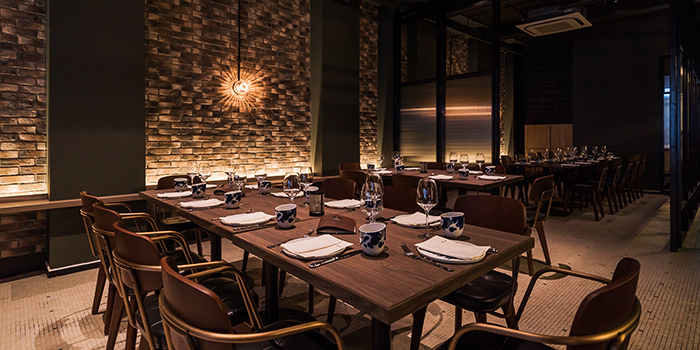 Dining Area from Amo in Clarke Quay, Singapore