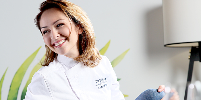 Angela May Seated Chef from Angela May Food Chapters in Orchard, Singapore