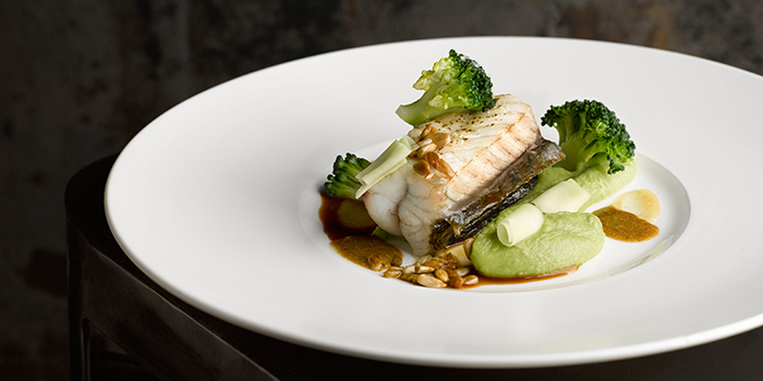 Pan Seared Red Snapper from Audace Bar & Restaurant at Wanderlust Hotel in Little India, Singapore