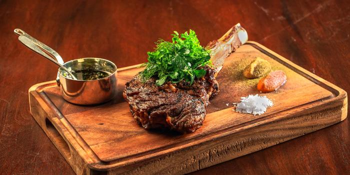 Beef Tomahawk from Tables Grill Restaurant at Grand Hyatt Erawan, Bangkok