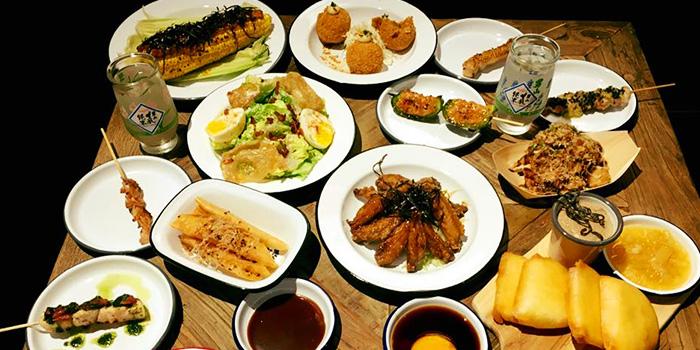 Food Spread from Birders in Tanjong Pagar, Singapore