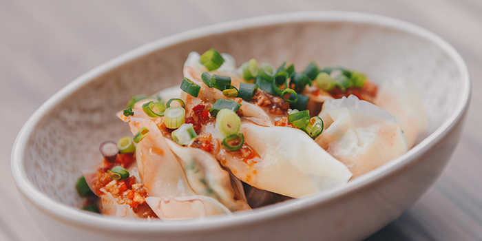 Red Oil Dumplings from Blue Lotus - Chinese Noodle Bar at Ascent in West Coast, Singapore