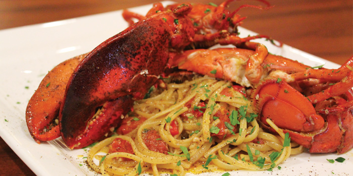 Boston Lobster Pasta from Trattoria Nonna Lina in Tanjong Pagar, Singapore