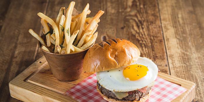 Burger and Fries, Jamie's Italian, Tsim Sha Tsui, Hong Kong