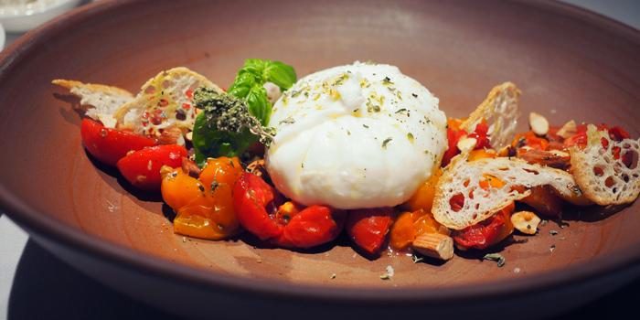 Burratina from Spasso Restaurant & Bar at Grand Hyatt Erawan, Bangkok