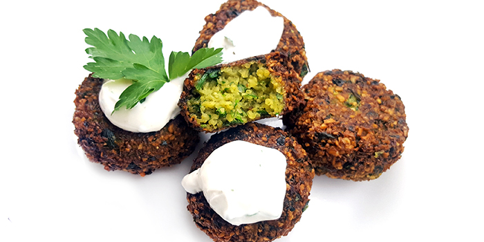 Falafel from Byblos Grill in Bugis, Singapore