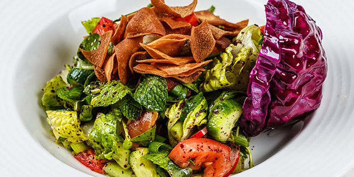 Fattoush from Byblos Grill in Bugis, Singapore