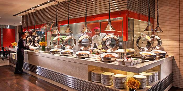 Asian Cuisine Spread from Carousel at Royal Plaza on Scotts in Orchard, Singapore