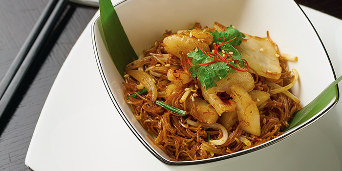 Wok Fried Min Sin from Cassia serving Chinese cuisine at Capella Hotel on Sentosa Island, Singapore