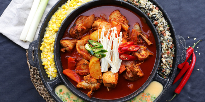 Spicy Chicken Stew from Chicken Up (Tanjong Pagar) in Tanjong Pagar, Singapore