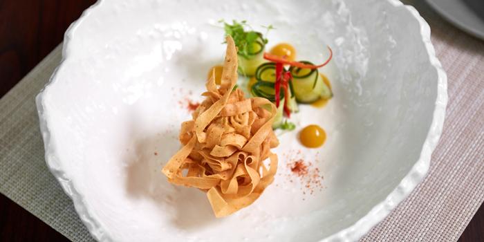 Coconut Crispy Scallops from Niche at Siam Kempinski Hotel, Bangkok