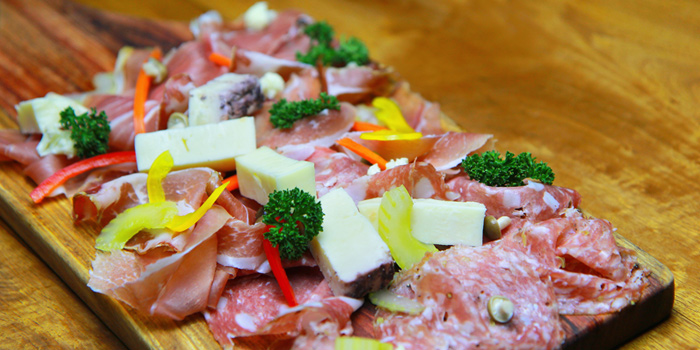 Cold Cut Platter from Sensi Restaurant in Narathiwat Soi 17, Bangkok