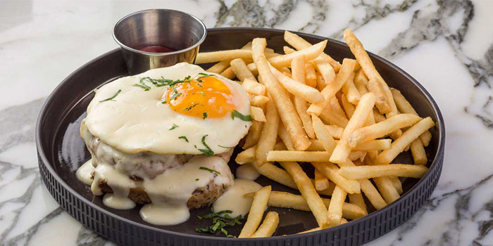 Croque Madame Jambon de Paris Emmental French Fries & Runny Eggs, Alto, Causeway Bay, Hong Kong