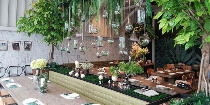 Dining Area from GISMO Coffee & Roasters at 39 Boulevard, Bangkok