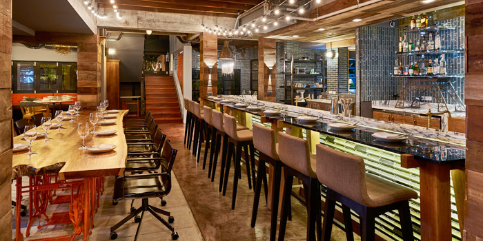 Dining Area from Freebird Bangkok  on Sukhumvit Soi 47, Bangkok