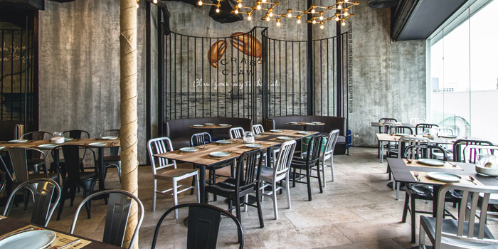 Dining Area from Crab and Claw at The Helix @ The EmQuartier, Bangkok