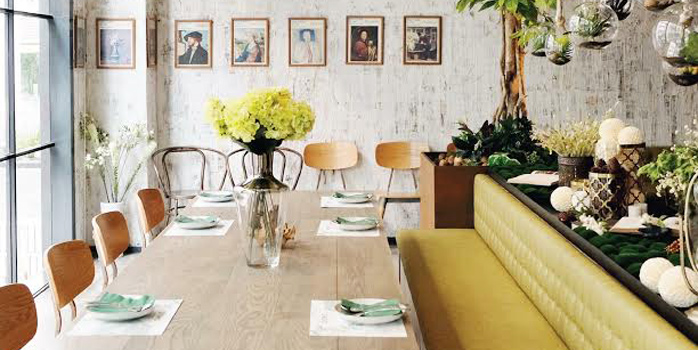 Dining Table from GISMO Coffee & Roasters at 39 Boulevard, Bangkok
