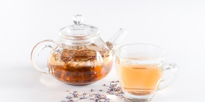 Lavendar Tea from Elemen @ Millenia Walk in Promenade, Singapore