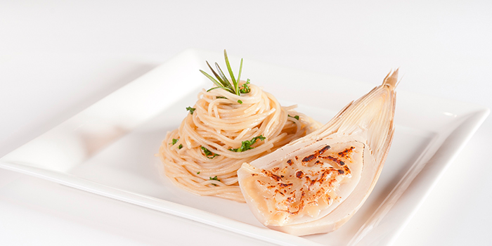 Oven Baked Bamboo Shoot with Aglio Olio from Elemen @ Millenia Walk in Promenade, Singapore