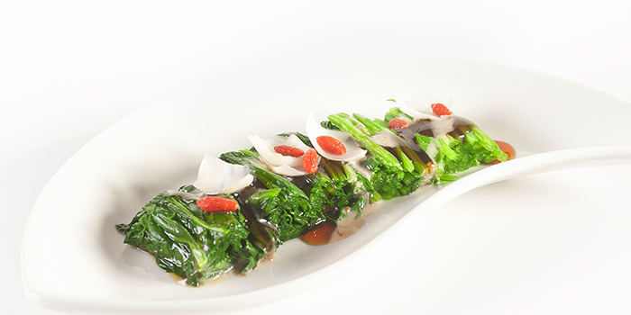 Spinach Salad with Sesame Dressing from Elemen @ Millenia Walk in Promenade, Singapore