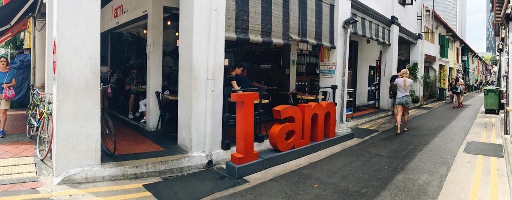 I AM..., HAJI LANE